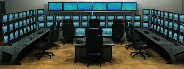 Control Ceneter Video Screens